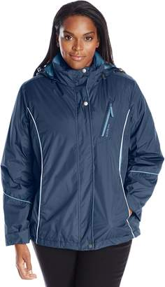 Big Chill Women's Plus-Size 3 In 1 Systems Jacket