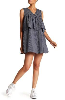 ENGLISH FACTORY Striped Bow Tied Dress