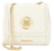 Love MoschinoSuper Quilted Crossbody Bag
