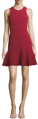 Elizabeth and James Rooney Paneled Fit-and-Flare Dress