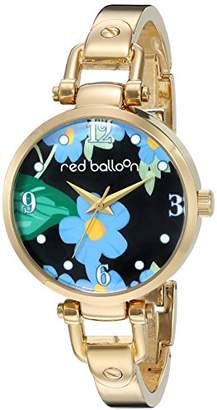 EWatchFactory Red Balloon Women's ' Quartz Metal and Alloy Casual Watch