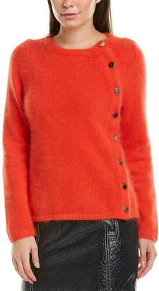 BA&SH Fuzzy Angora-Blend Sweater