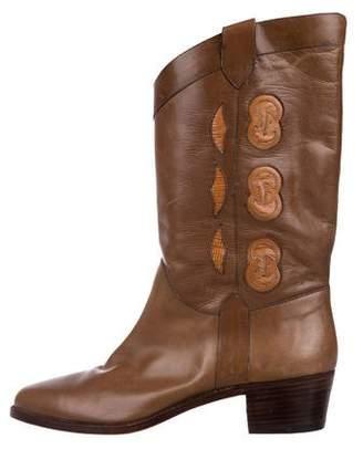Gucci GG Cowboy Boots