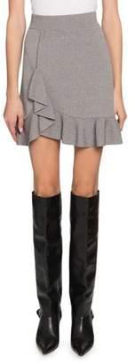 Altuzarra Ziggy Salt Pepper Peplum Mini Skirt