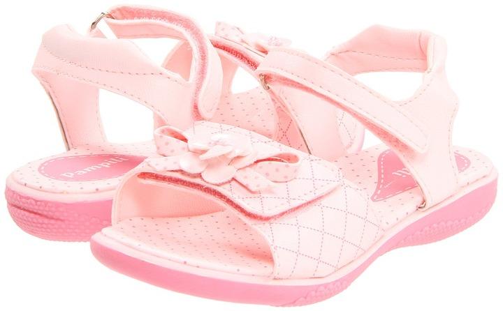 Pampili Arco-Iris 3 (Infant/Toddler) (Rose) - Footwear