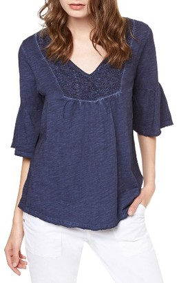 Women's Sanctuary Amara Lace Yoke Top $69 thestylecure.com