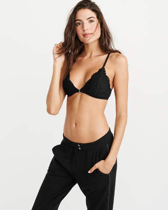 Abercrombie & Fitch Lace Front-Closure Bralette