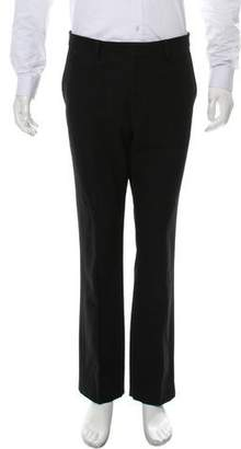 Givenchy Virgin Wool Flat Front Pants