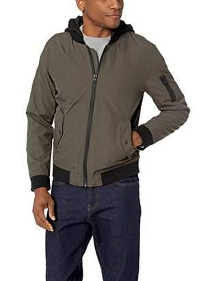 Levi's Men's Lightweight Hooded Taslan Bomber Jacket
