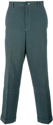 Comme des Garcons Pre-Owned loose-fit tapered trousers