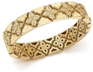 Roberto Coin 18K Yellow Gold Venetian Princess Diamond Bangle