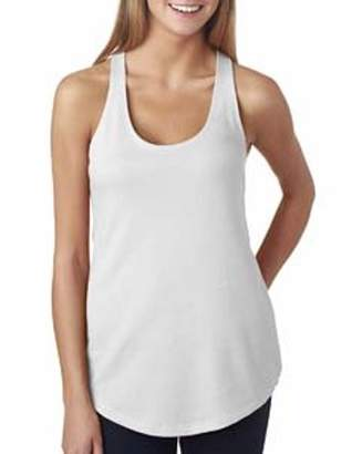 Next Level Apparel Next Level Ladies' The Terry Racerback Tank 6933
