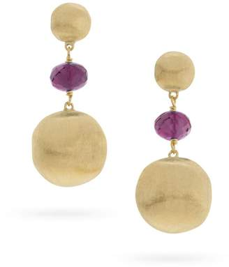Marco Bicego Africa Amethyst Gold Earrings