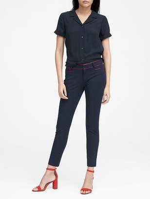 Banana Republic Sloan Skinny-Fit Pant with Piping
