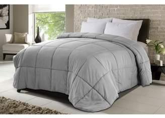 DOWN HOME Never Down MicroSoft Comforter Light Gray Full/Queen