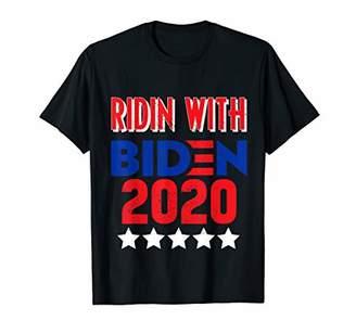 Ridin with Biden 2020 Election Vote for Biden Tee Shirt T-Shirt
