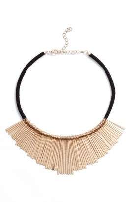 Women's Panacea Bar Charm Bib Necklace $36 thestylecure.com