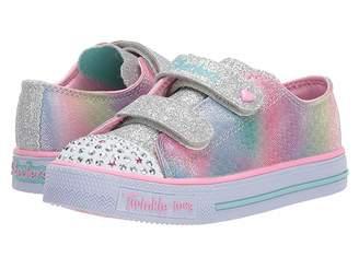 Skechers Twinkle Toes - Shuffles 10912N Lights (Toddler/Little Kid)