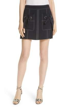Veronica Beard Rinko Miniskirt