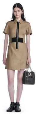 Alexander Wang Short Sleeve Safari Dress