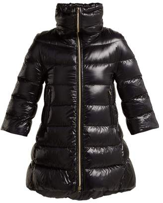 Herno Cleofe Quilted Down Jacket - Womens - Black