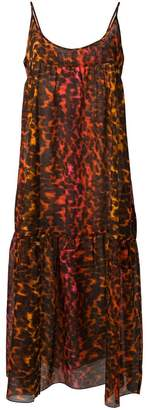 Stella McCartney leopard print maxi dress