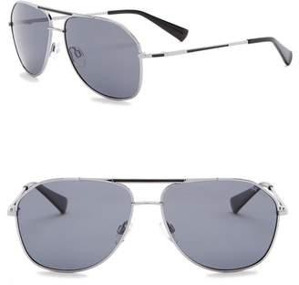 81001e941243 Cole Haan 60mm Polarized Aviator Sunglasses