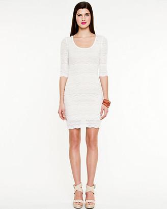 Le Château Lace 3/4 Sleeve Dress
