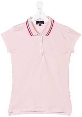 Harmont & Blaine Junior TEEN studded logo polo shirt