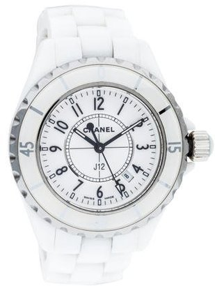 Chanel J12 Watch $2,495 thestylecure.com