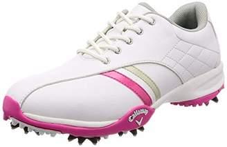 Callaway (キャロウェイ) - [キャロウェイ フットウェア] レディース ゴルフシューズ 軽量 (スニーカータイプ) [ 247-7983802 / URBAN AM ] ゴルフ 靴 090_ホワイト・ピンク 23 cm