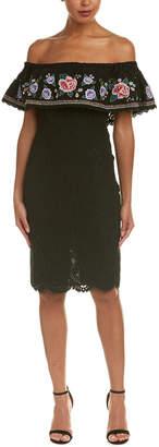 DAY Birger et Mikkelsen Champagne & Strawberry Lace Sheath Dress