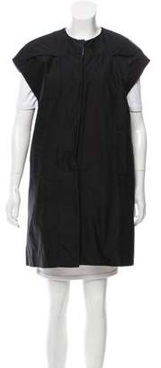 Marni Twill Snap-Up Vest w/ Tags