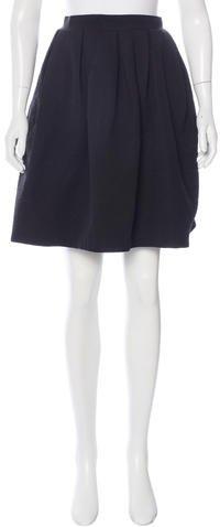CarvenCarven Flared Knee-Length Skirt