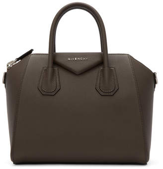 Givenchy Taupe Small Antigona Bag