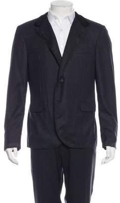 Lanvin Trimmed Wool Blazer