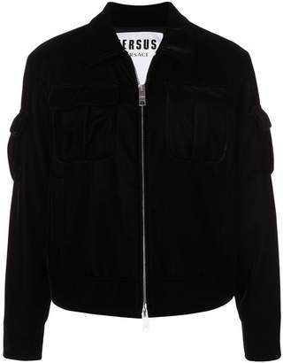Versus chest pocket jacket
