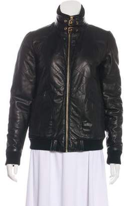 Marc Jacobs Quilted Leather Jacket