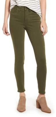 Madewell High Waist Skinny Jeans