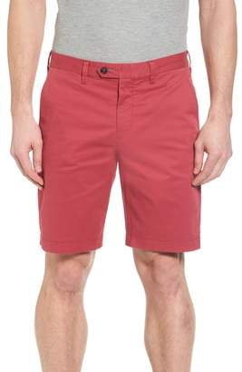 Ted Baker Proshtt Stretch Cotton Shorts