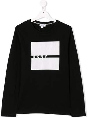 DKNY TEEN graphic print T-shirt