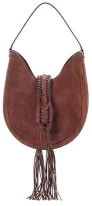 Altuzarra Ghianda Knot hobo suede shoulder bag
