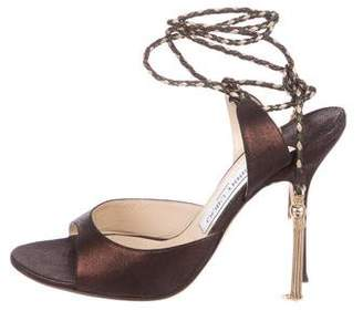 3f01a988a62 ... 80mm Pre-Owned at TheRealReal · Jimmy Choo Leather Ankle-Strap Sandals  ...