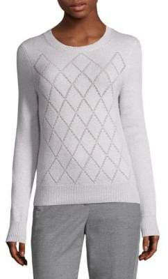 Peserico Geometric Crewneck Sweater