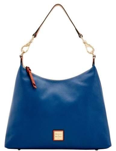 Dooney & Bourke Pebble Grain Juliette Hobo Shoulder Bag - OCEAN - STYLE