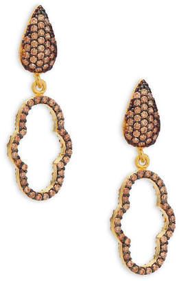 e8d8b4f86 Azaara 22K Yellow Gold Drop Earrings