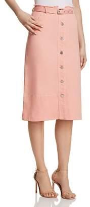 Elizabeth and James Merritt Denim Skirt