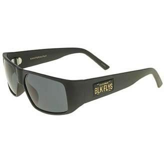 Black Flys Men's Santeria Fly (Cali Plate) Shield Sunglasses