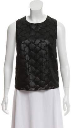 Tanya Taylor Printed Sleeveless Top