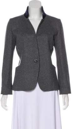 ATEA OCEANIE Structured Wool Jacket